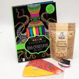 Colouring Sea Creatures Gift Pack – 8-12 Years