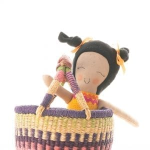 Doll in a Basket Gift Pack