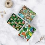 Mixed Gift Wrap x 3 sheets